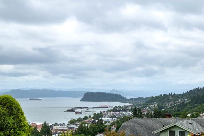 Astoria, Oregon - Océano Pacífico - Población donde se filmó la película Los Goonies