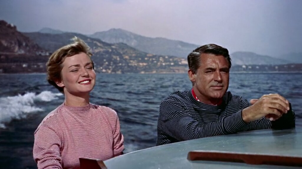 Brigitte Auber Cary Grant To Catch A Thief 1955 Flickr