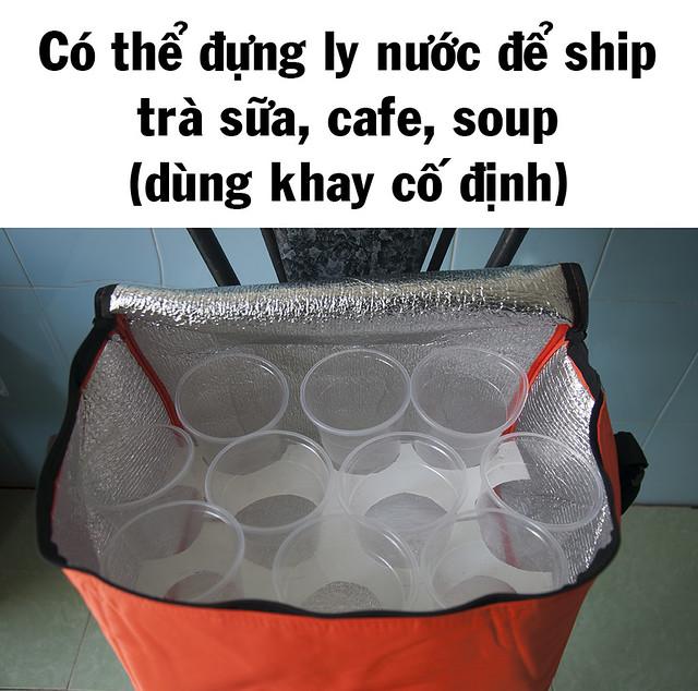 Túi vải giữ nhiệt cỡ lớn Cần Thơ