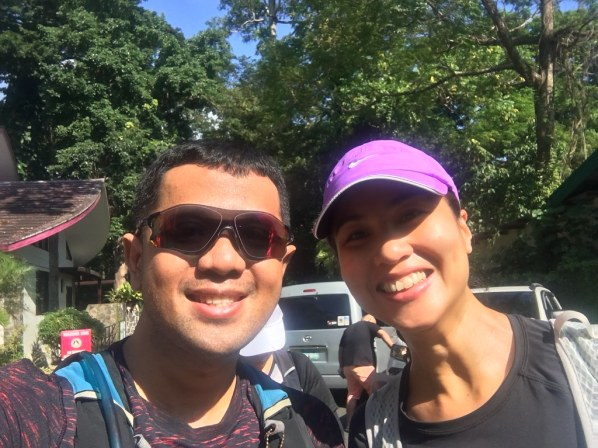 One of the friendliest persons in the running community, The Bull Runner Jaymie Pizarro
