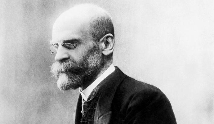 Emile Durkheim (1858-1917), cofundador de la sociología y pionero en el estudio empírico del suicidio.