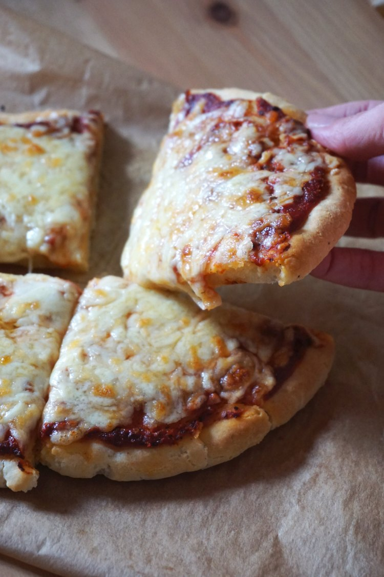 Gluten and dairy free yoghurt pizza dough recipe