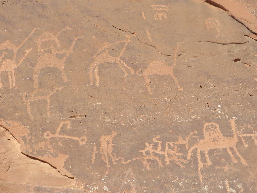 wadi rum petroglyphs