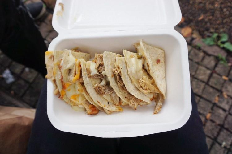 Amigos | gluten free Islington guide | gluten free pork quesadillas
