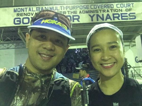With Super Mamaw Princess.