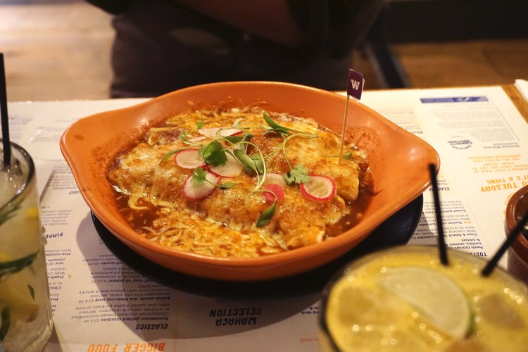 Gluten free enchiladas from Wahaca | Gluten Free Mexican Food | London + UK