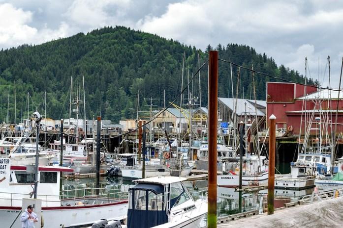 Garibaldi, Oregon - Pequeño pueblo con puerto pesquero