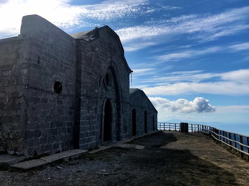 chiesa di pizzo san michelle ii monti picentini
