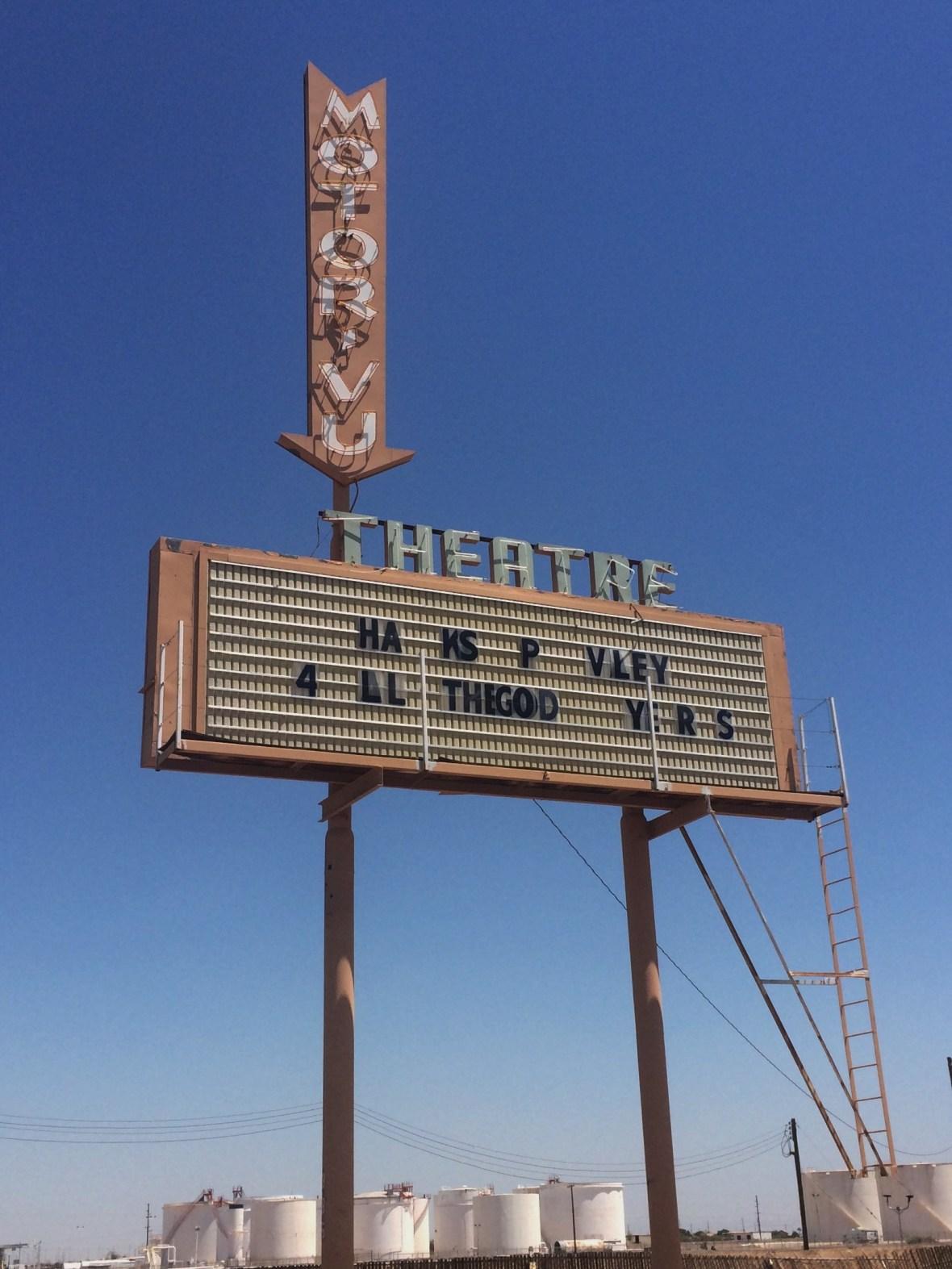 Motor-Vu Theatre - 385 West Aten Road, Imperial, California U.S.A. - August 8, 2017