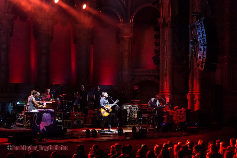 The Decemberists on stage at Orpheum Theatre in Vancouver, BC on August 8th 2017