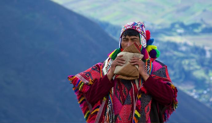 Chamán en Los Andes.   © McKay.