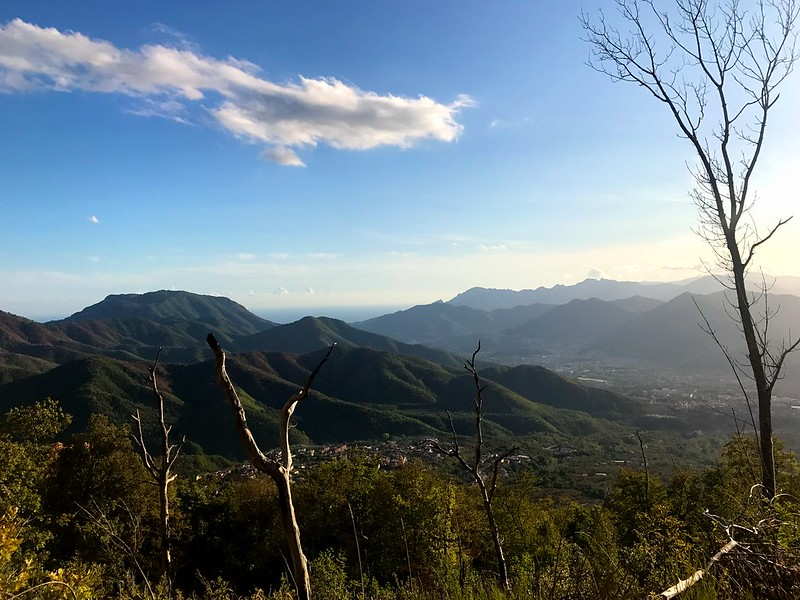 hiking the picentini mountains
