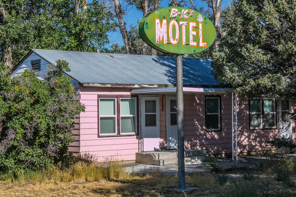 BK's Motel - Mud Lake, Idaho U.S.A. - July 28, 2017