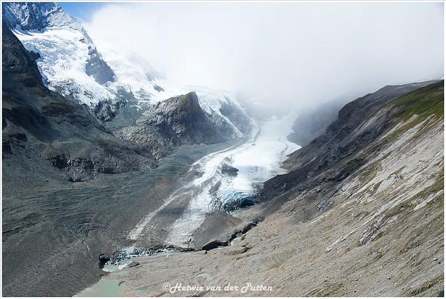 De gletsjer Pasterze.