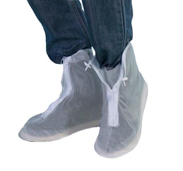 Bọc giày đi mưa chống ngập có đế khóa kéo Cần Thơ