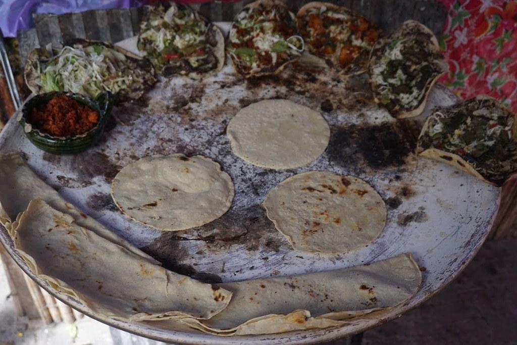 oaxaca mexico tlayuda