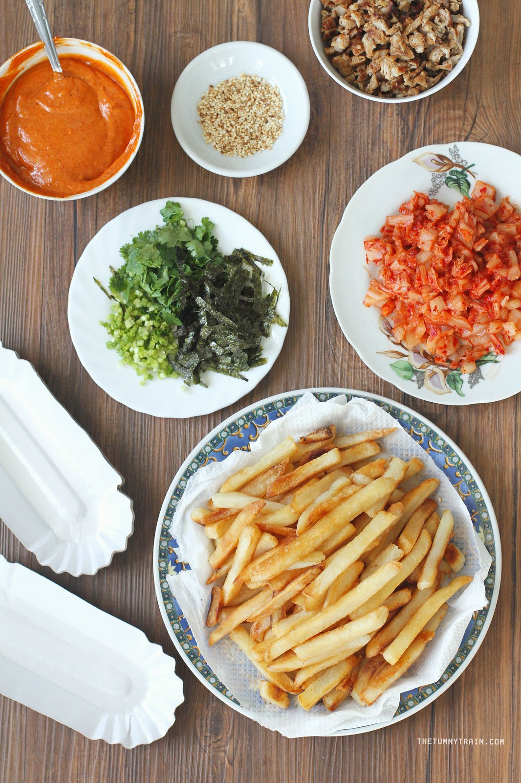 Korean Style Fries Recipe Featuring Us Potatoes