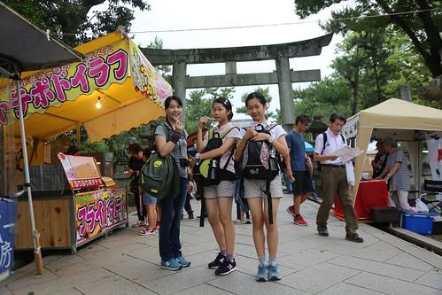 【2017日本京都七日訪】北野天滿宮天神市集:逛不完的古物市集