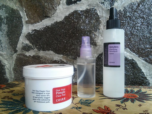 Evening toner routine : COSRX and Mustika Ratu
