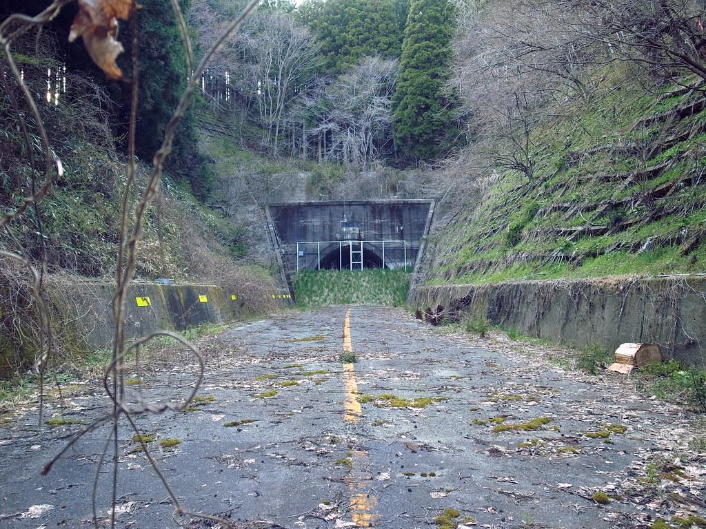 Old Miwa Tunnel 三和隧道 国道49号旧道 1964年3月竣工 2010年8月廃止