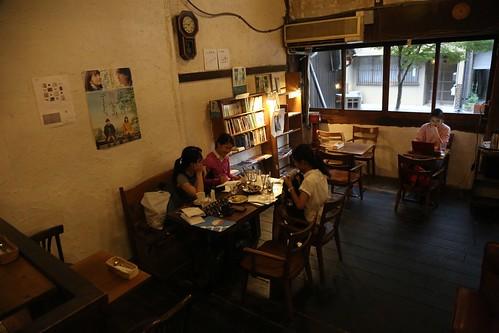 【2017日本京都七日訪】西陣老屋喝咖啡:CAFÉ SARASA