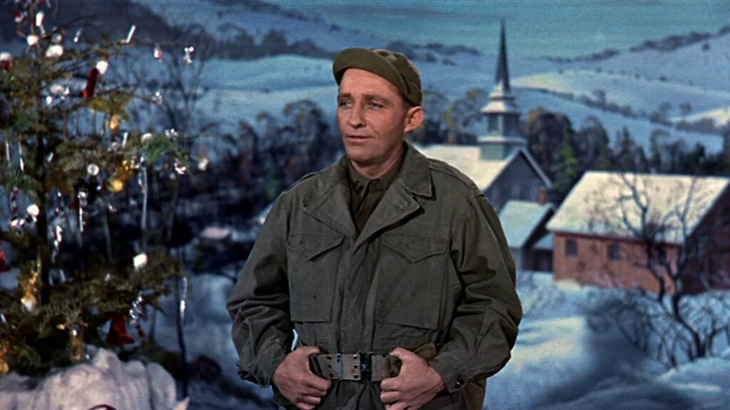 Bing Crosby White Christmas 1954 White Christmas