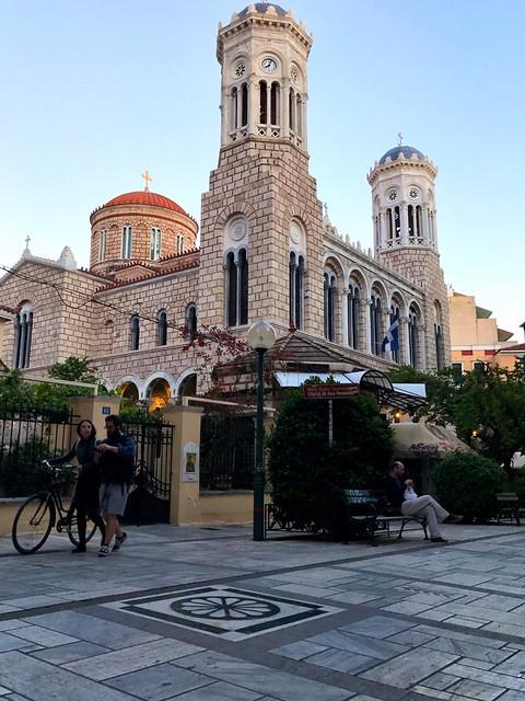 panagia chrysospyliotissa church in central athens