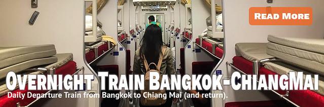 Link Overnight Train Bangkok to Chiang Mai