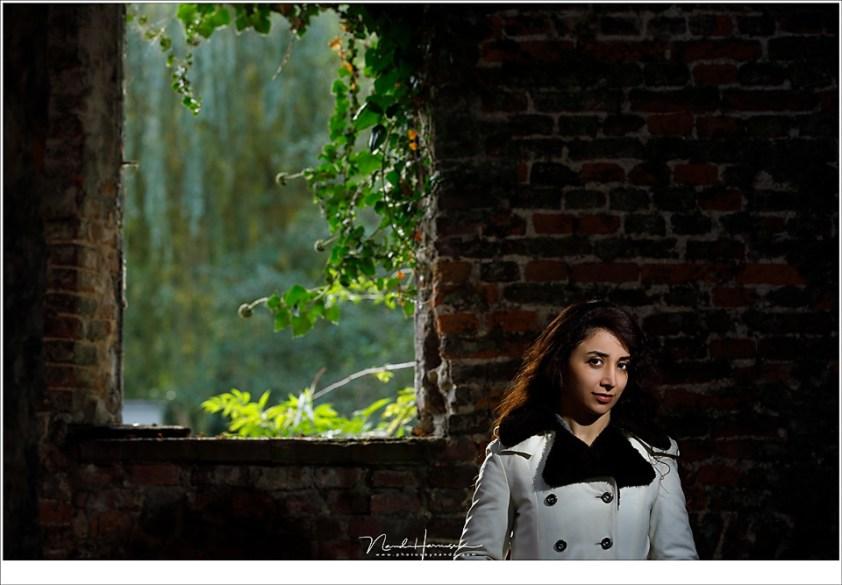 Fotoshoot met Irena, belicht het daglicht