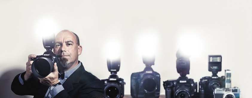 Flitsfotografie met een reportageflitser