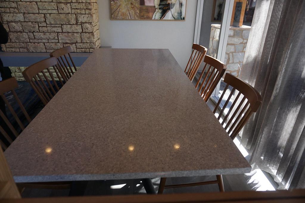 fairfield marriott lobby table