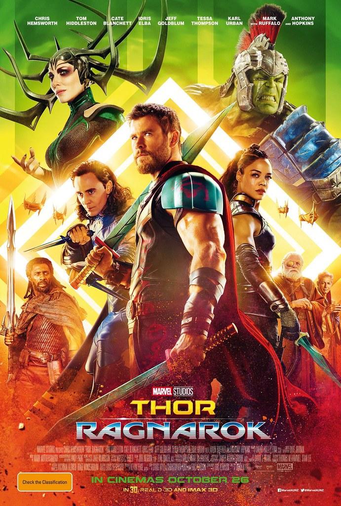 Thor Ragnarok 2017