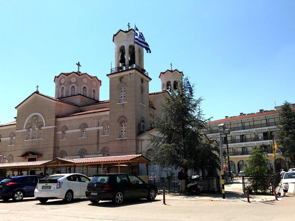 εκκλησια αγιου ιωαννη ρωσου στο προκοπι ευβοιας