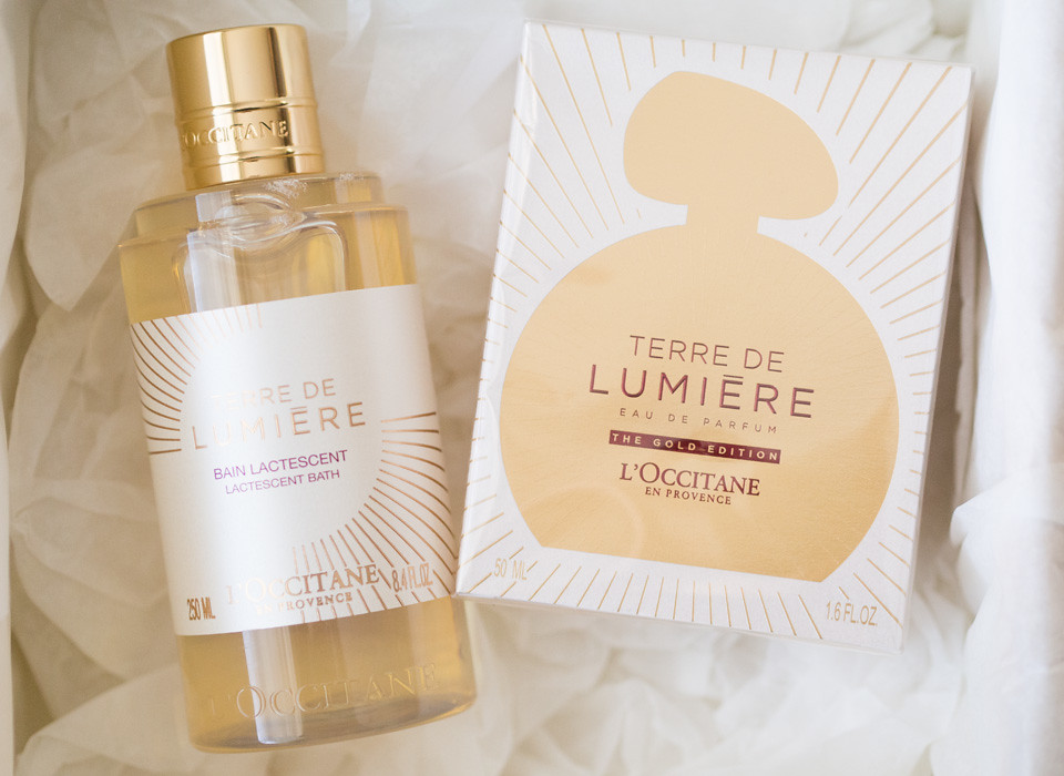loccitane terre de lumiere the golden edition