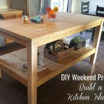 Turtles And Tails Diy Weekend Project Kitchen Island