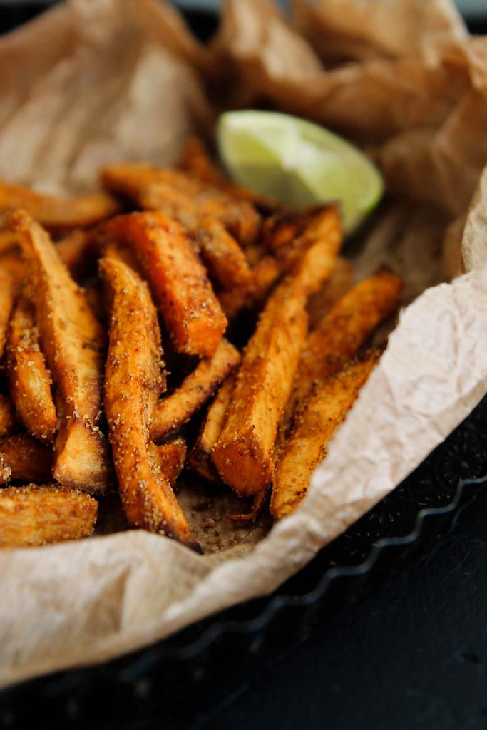 recette de Frites de patate douce