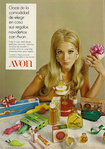 1970 Christmas Ad Avon Fragrances Amp Beauty Products With
