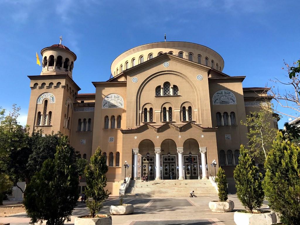 saint panteleimonas church in athens - largest church in the balkans
