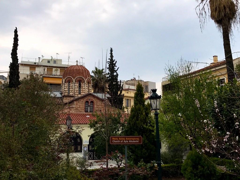 church of agia aikaterini in plaka athens