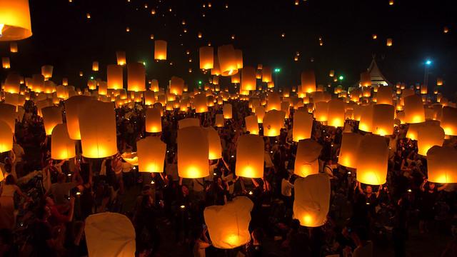 Yee Peng Lantern Festival International Maejo