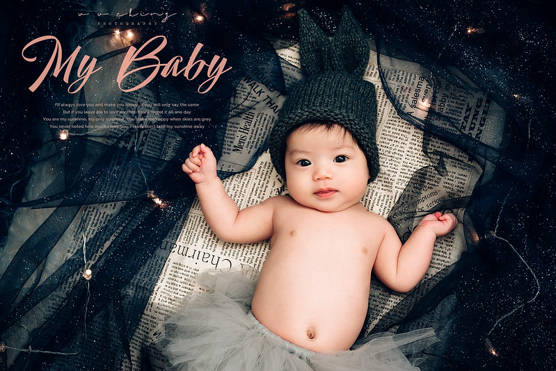 ▌Zoe ▌ Zoe初登場:2個月又14天新生兒寫真 by V. V. Ching Photography