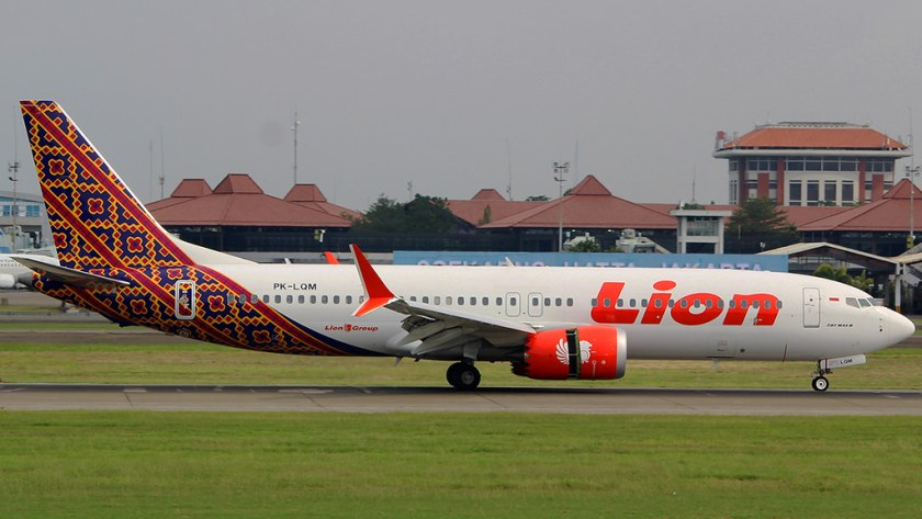 Bildresultat för lion air boeing 737 max 8