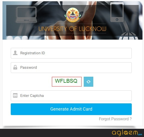 LUMET 2018 Admit Card download at lkouniv.ac.in - For 2 June 2018 Exam  %Post Title, %Post Category, AglaSem