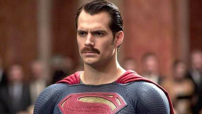 Henry Cavill Moustache Superman