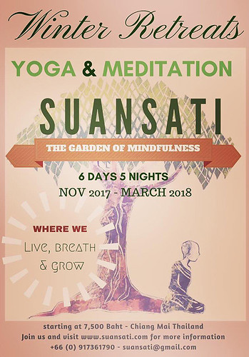 Brochure Suan Sati Chiang Mai Thailand