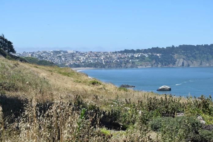 Vistas a Baker Beach, en San Francisco