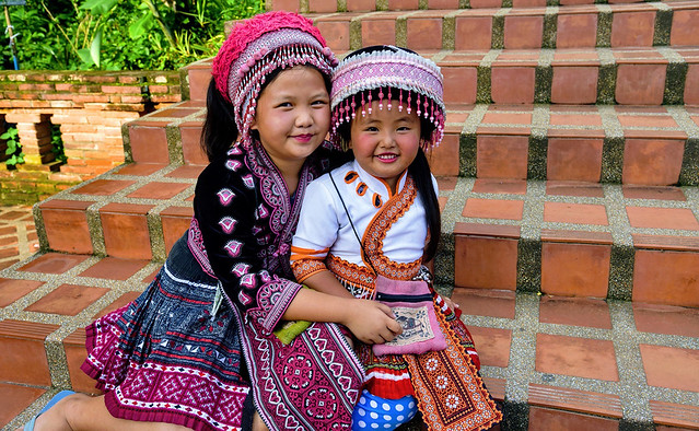 Hmong Hill Tribes