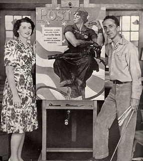 Mary Doyle Keefe and Norman Rockwell