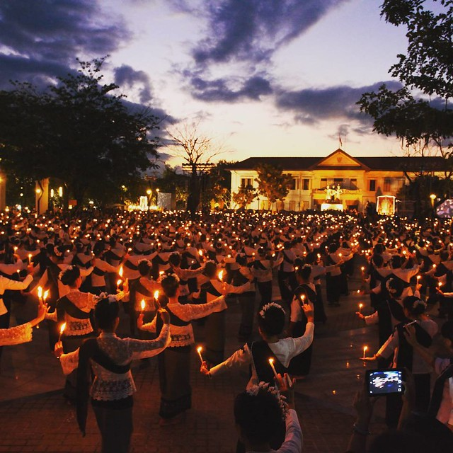 Yee Peng Festival Traditional Lanna Dance