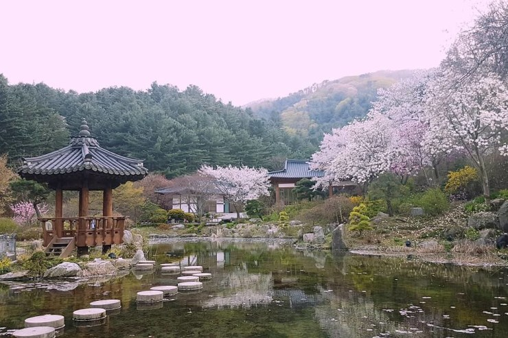 pagoda at the lake